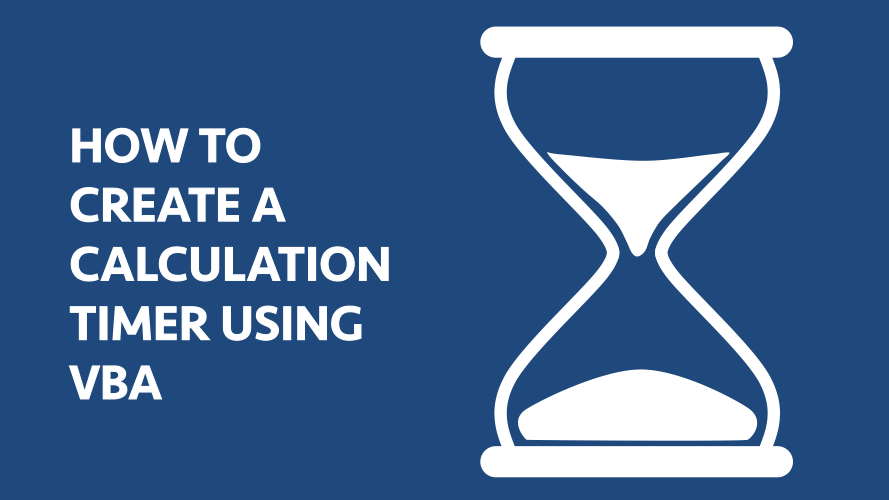 How to create a calculation timer with VBA - Excel off the grid
