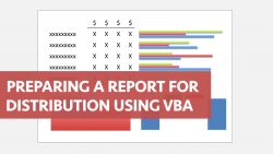 Excel VBA Prepare Report For Distribution