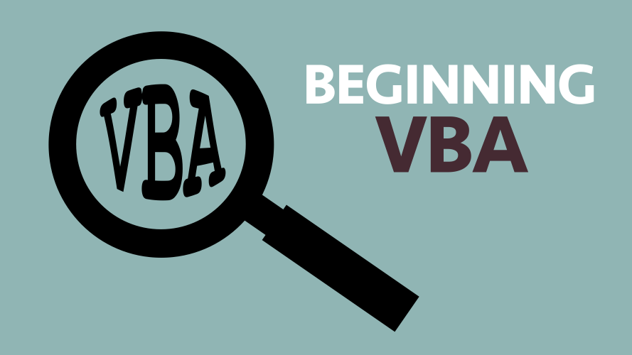 2 0 First steps in programming VBA - Excel off the grid