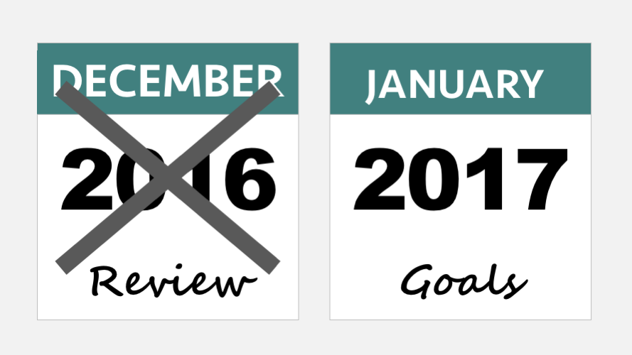 2016 review and 2017 goals