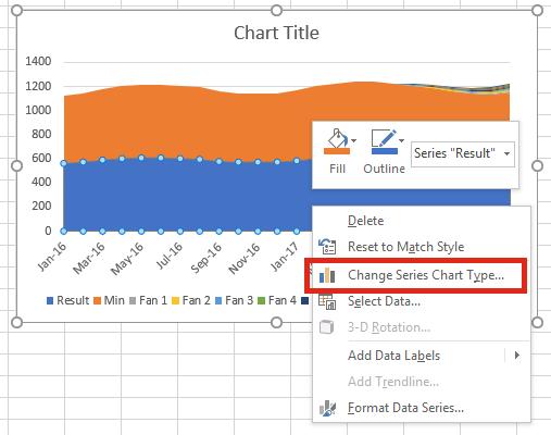 Fan chart - change series chart type