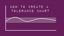 How to create a tolerance chart