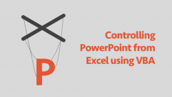 Controlling PowerPoint from Excel using VBA