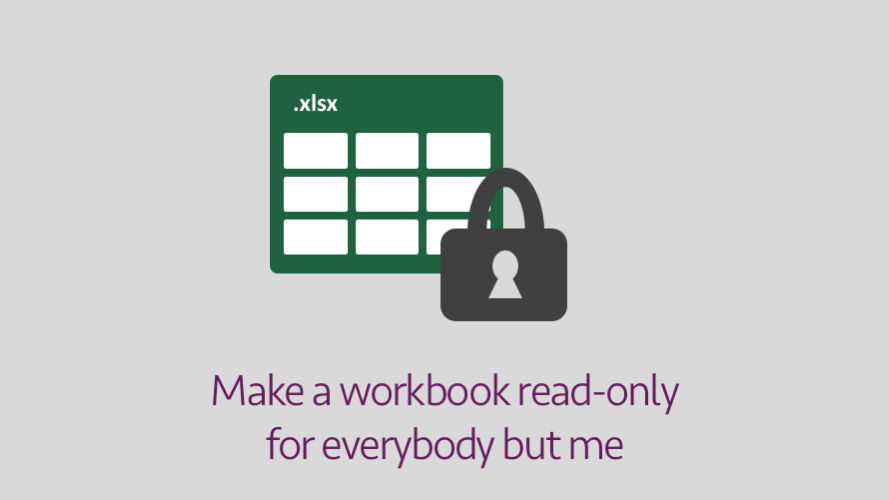 Make workbook read only for everybody