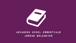 Review - Advanced Excel Essentials