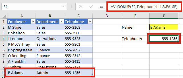 VLOOKUP Auto Expand new data