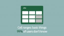 Cell range basics