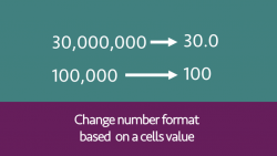 Change number format based on value