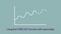 FORECAST with seasonality