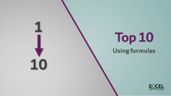 Top 10 with formulas featured image