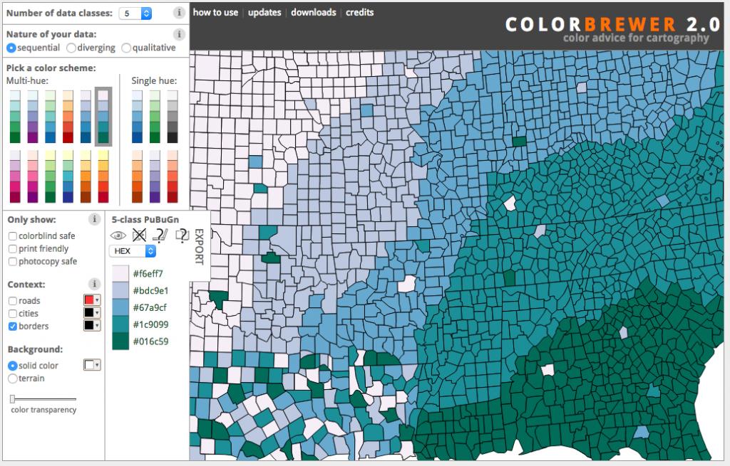 ColorBrewer - Color Palette