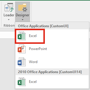 Ribbon Editor Excel CustomUI
