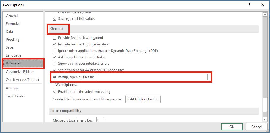 Startup Folder Custom Location