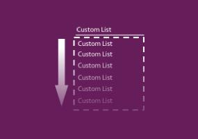 Create Custom Lists