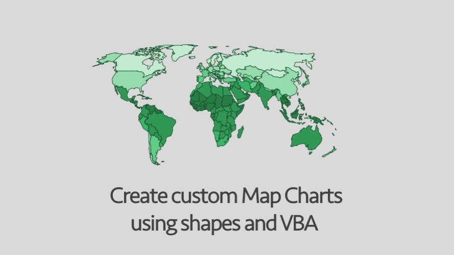 Custom Map Charts