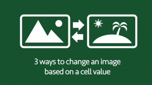 Change image based on cell value