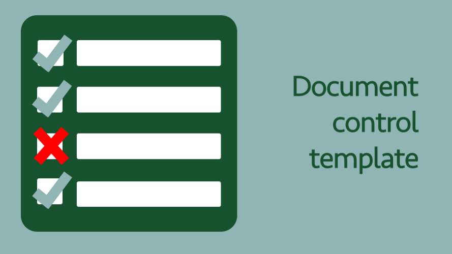 document control template excel off the grid