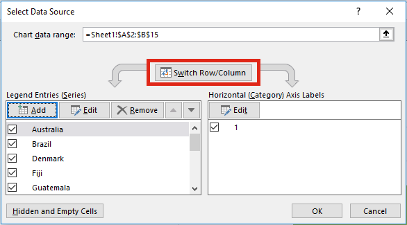 Image Lookup - Switch RowColumn
