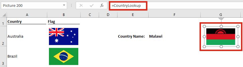 Image lookup - Linked image address
