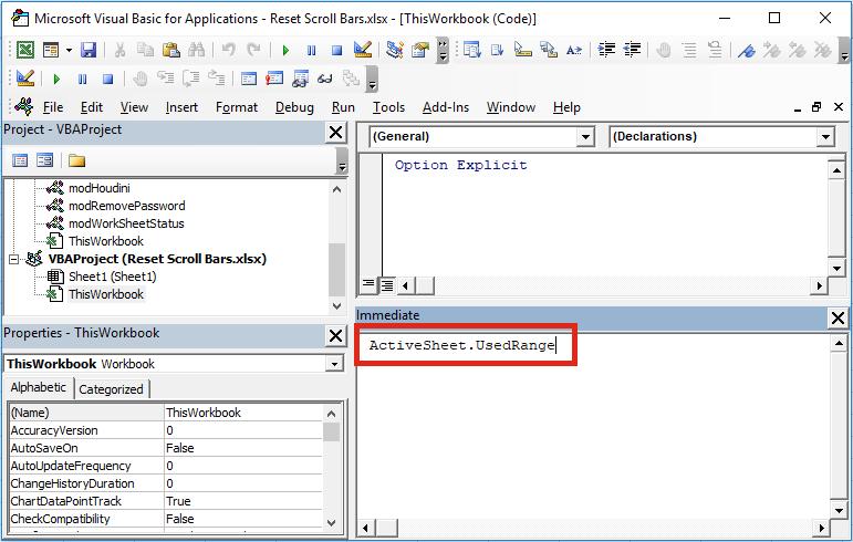 Reset Scrollable - ActiveSheet.UsedRange