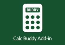 Calc Buddy Add-in Sidebar