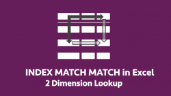 Index Match Match