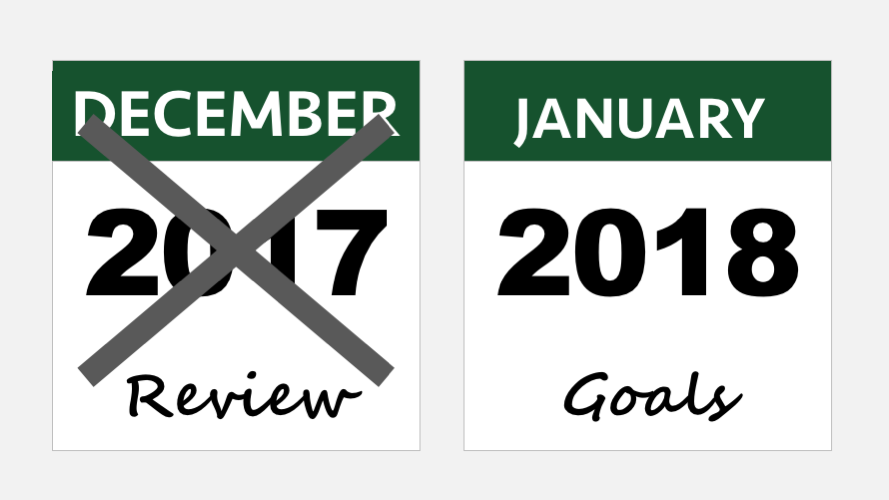Review 2017 Goals 2018