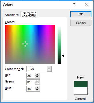 Color Picker Custom