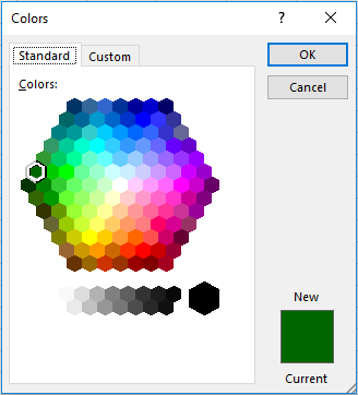 Color Picker Standard