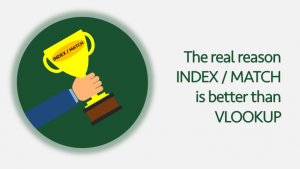 INDEX MATCH better than VLOOKUP