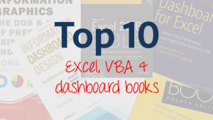 Top 10 Excel VBA Dashboard Books