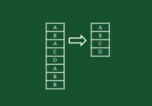 Unique Duplicate values with formulas Thumb