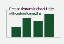 Dynamic Chart Title