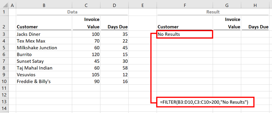 FILTER - Example 2b