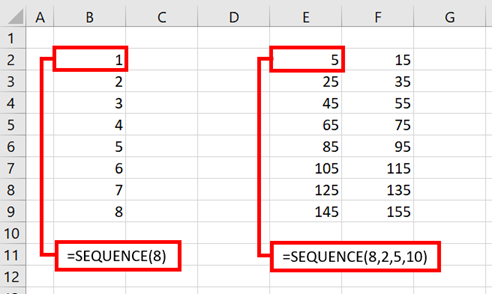 SEQUENCE - Example 1