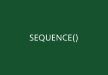 SEQUENCE Function Thumb
