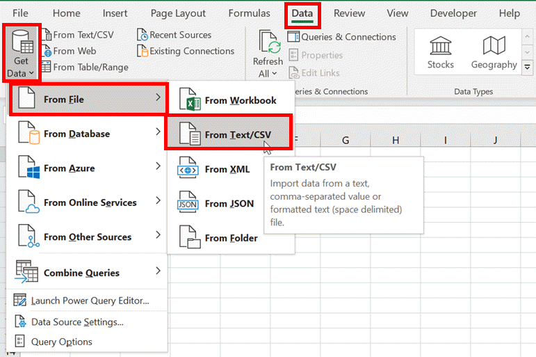 Power Query - Data Refresh - Excel off the grid