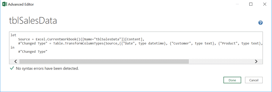 M Code Editor