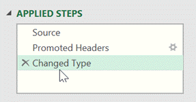 Named Range - applied steps