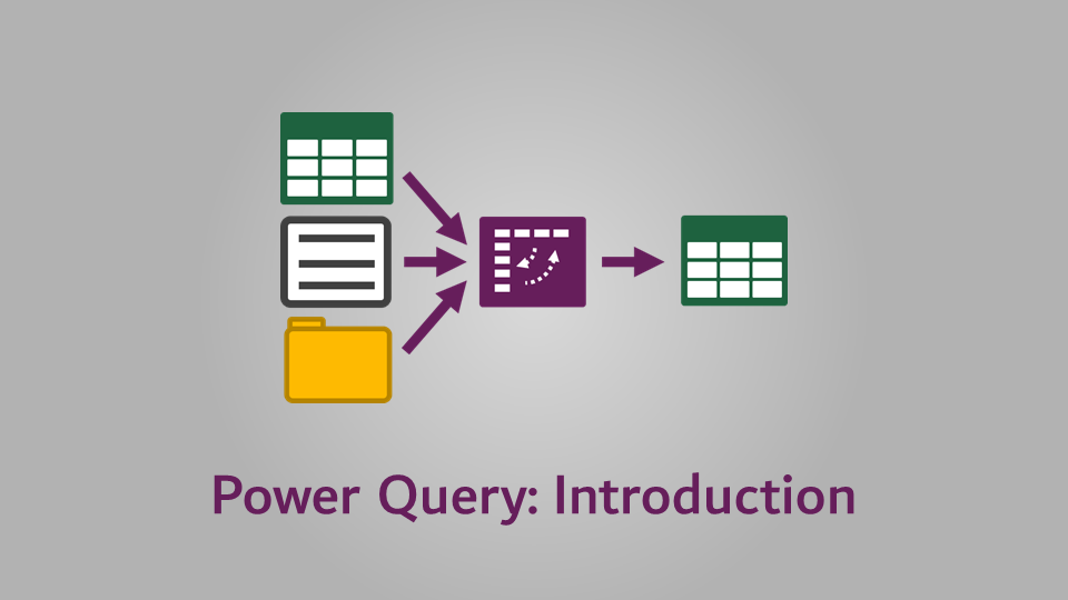 Power Query - Introduction