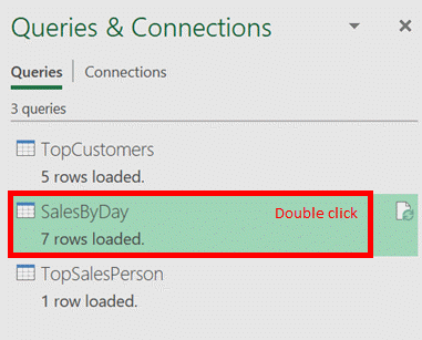 Double Click Query