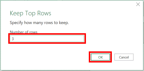 Keep Top Rows window