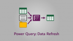 Power Query - Refresh Data