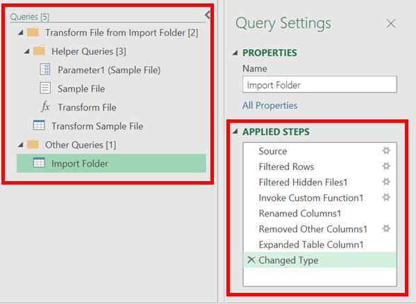 Auto query transformations