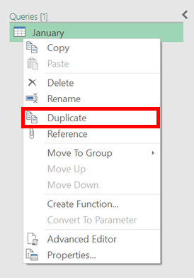 Duplicate Query