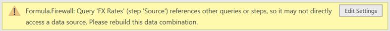 Parameter Error Message