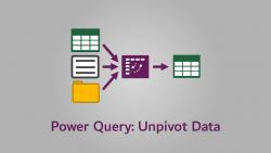 Power Query - Unpivot Data