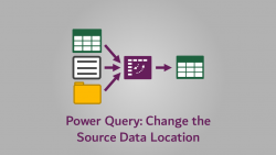 Power Query - Change Source Data Location