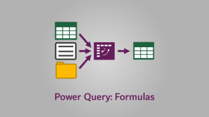 Power Query - Formulas