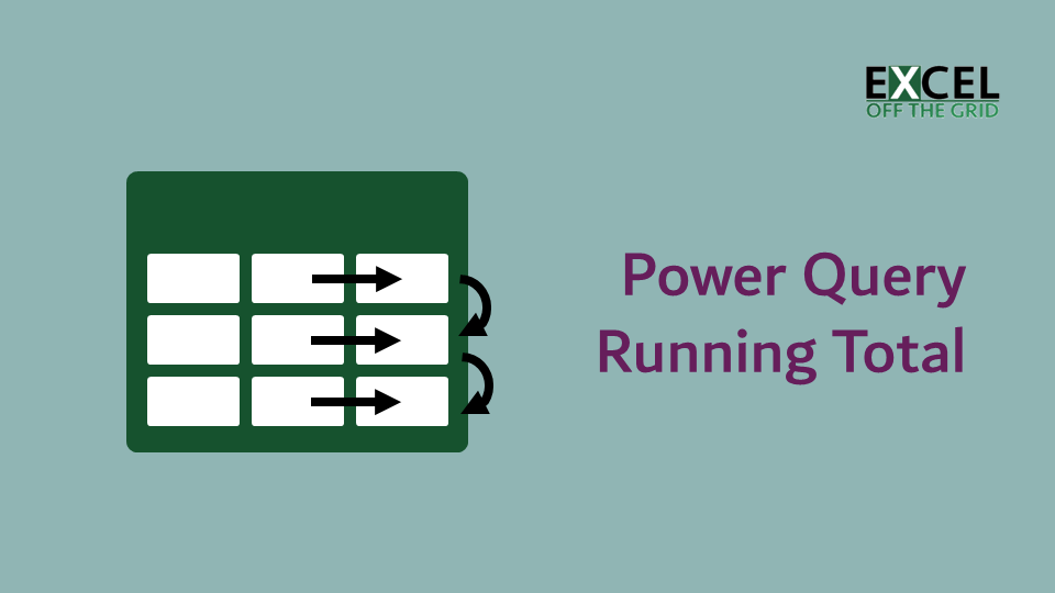 Power Query - Running Total